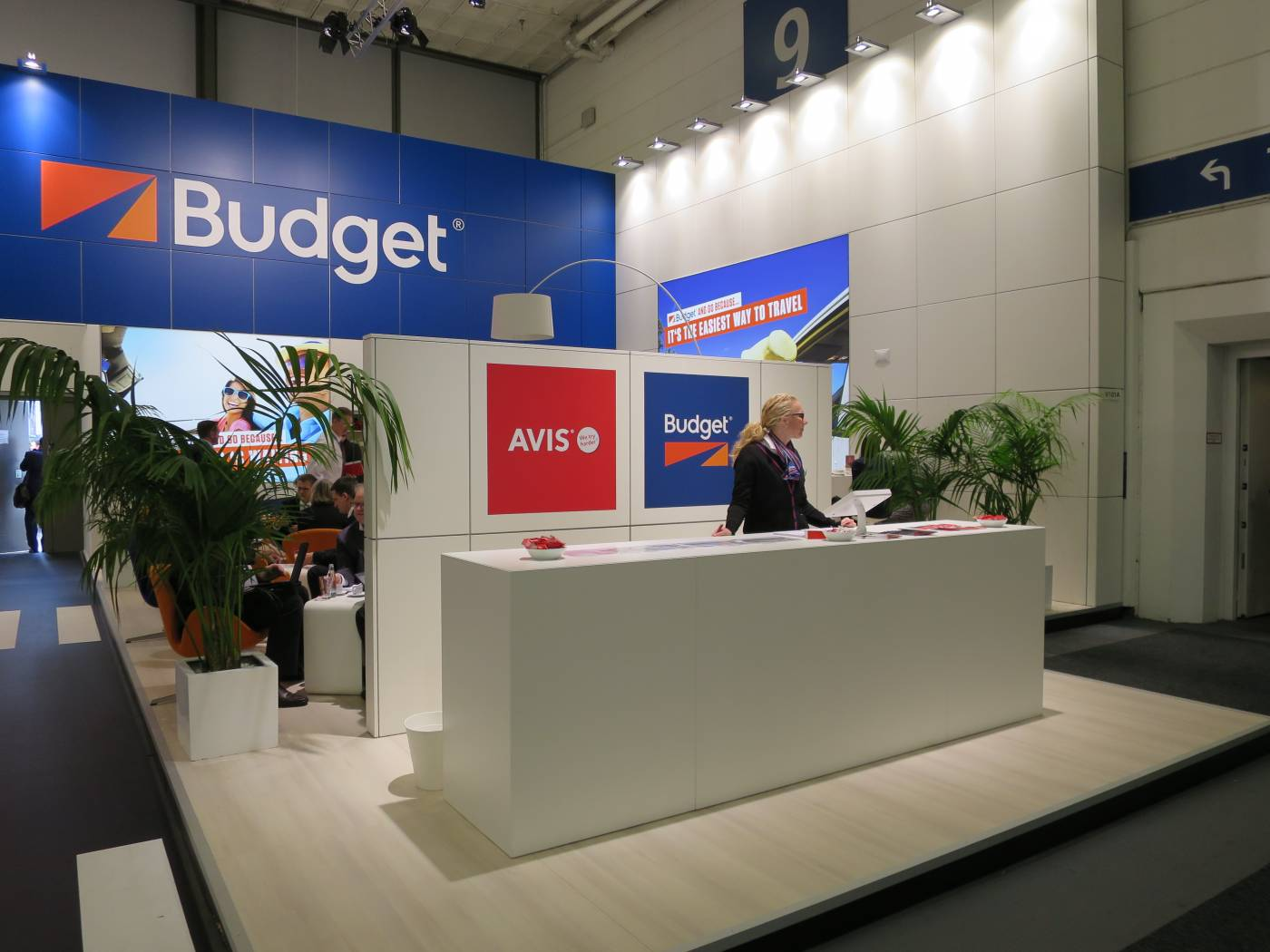 Budget & Avis car rental