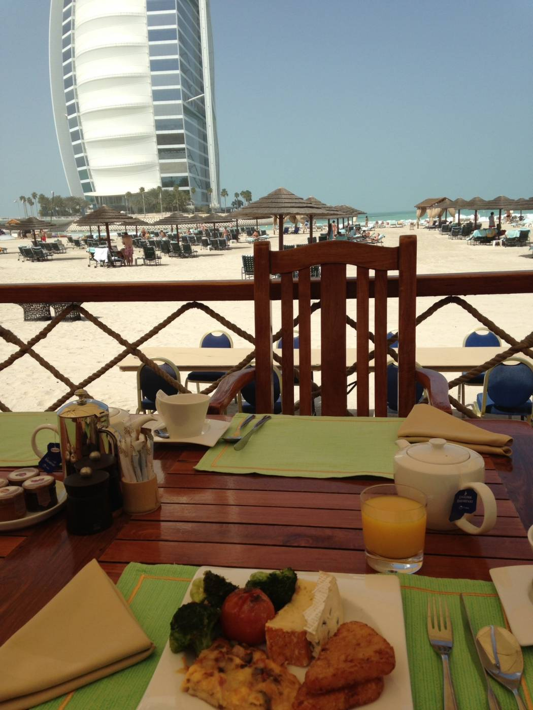 breakfast in Dubai
