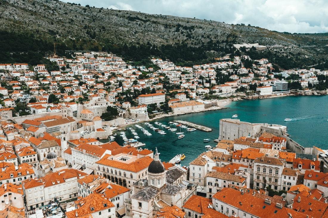 Обои Dubrovnik, здания, остров, дома, croatia, хорватия, адриатическое море, adriatic sea. Города foto 18