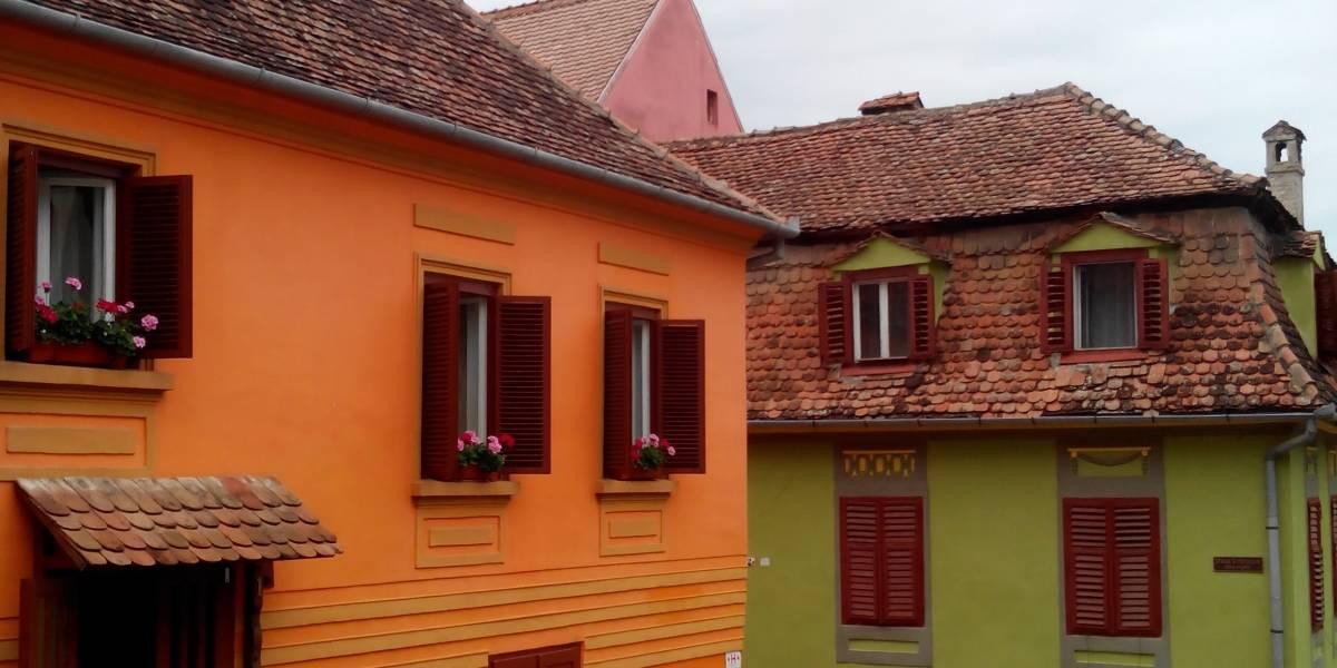 Путешествие в Румынию и Болгарию. День 7 и 8: Сигишоара и соляная шахта Салина Прайд, Румыния