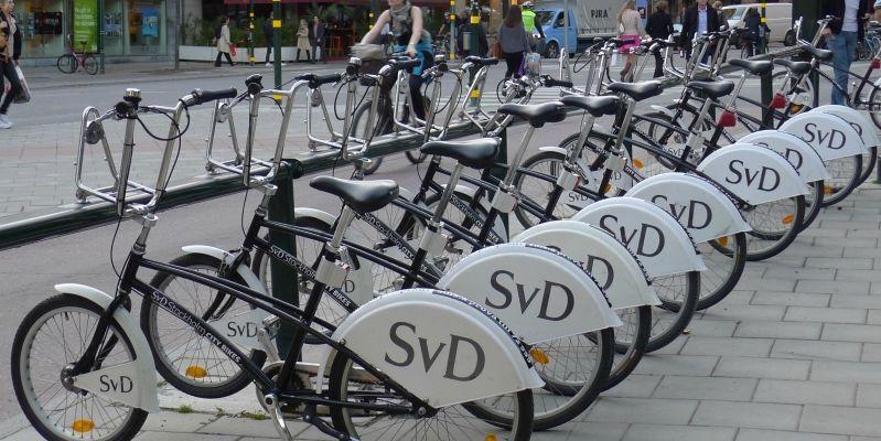 По Стокгольму на велосипеде: как взять велосипед напрокат, как его оплачивать и как сдавать.